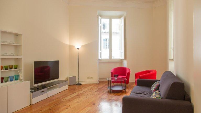 Centro Storico, Roma'da kiralık geniş stüdyo daire