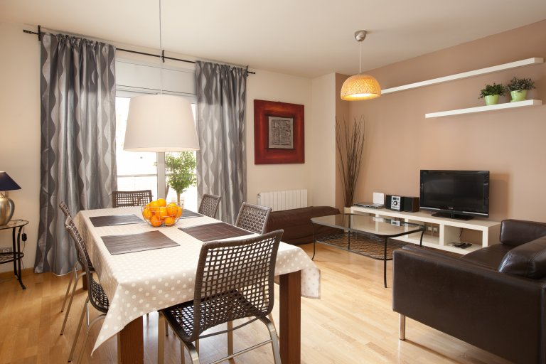 3-bedroom apartment for rent in Vila Olímpica, Barcelona