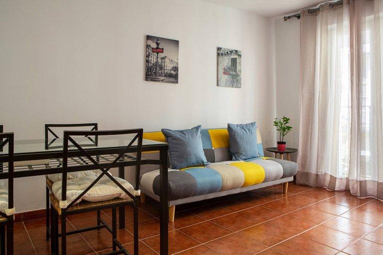 Casual 2-bedroom apartment for rent in Lavapiés, Madrid