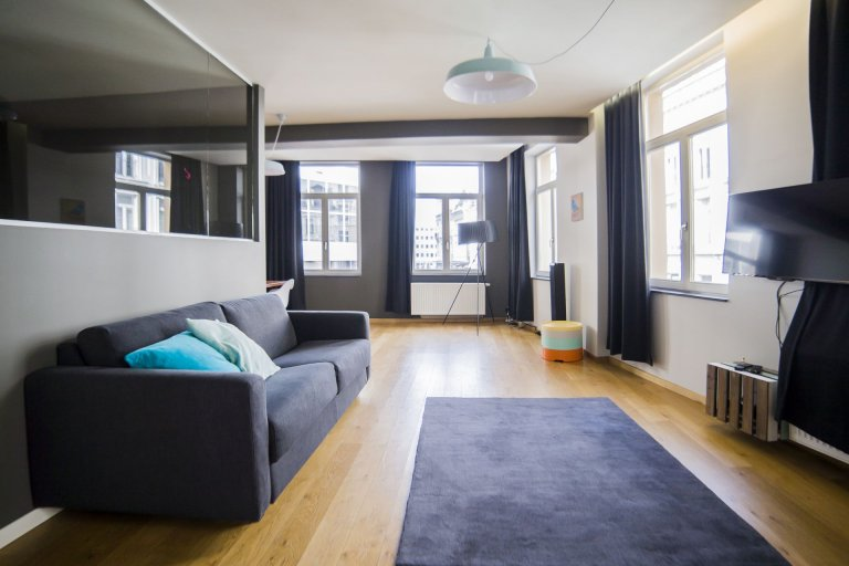 Lovely 2-bedroom apartment for rent in centre of Brussels