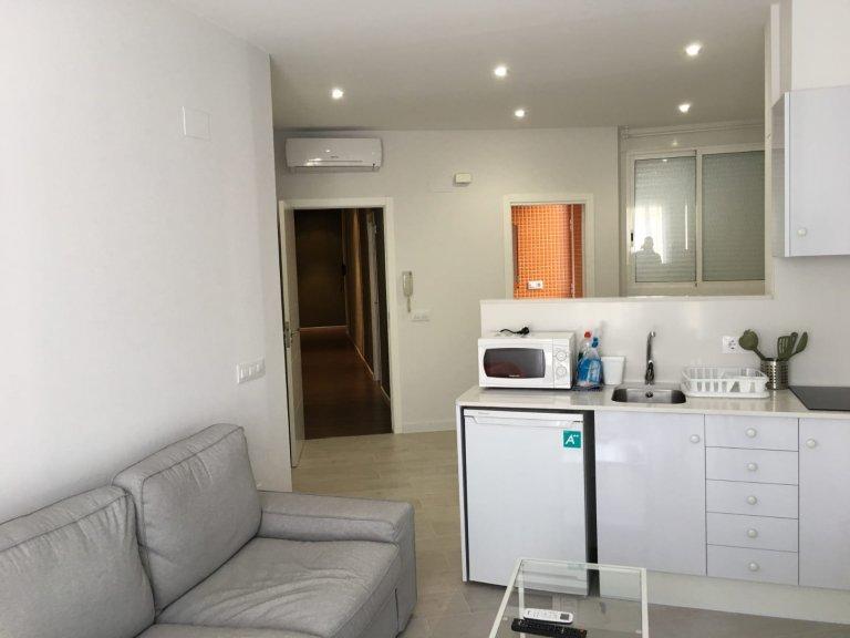 Gemütliches Studio-Apartment zur Miete in l'Eixample, Valencia