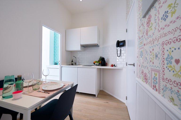 Acogedor estudio en alquiler en Etterbeek, Bruselas
