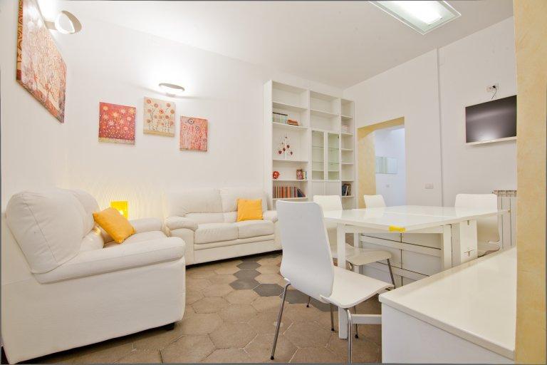 Superbe appartement de 3 chambres à louer à Trastevere, Rome