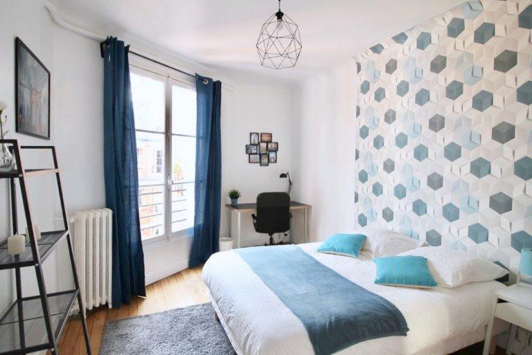 Jasny pokój do wynajęcia w Paryżu 16
