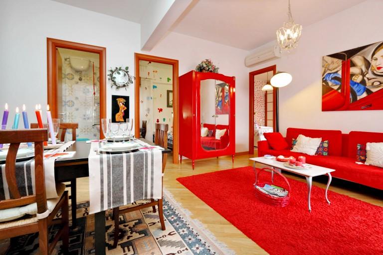 Chambres confortables à louer dans un appartement de 3 chambres à coucher à Aurelio, Rome