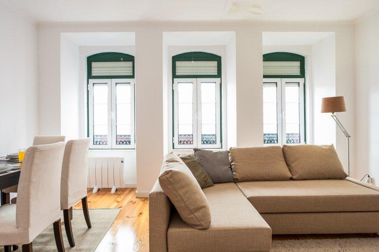 1-Zimmer-Wohnung zur Miete in Principe Real, Lissabon