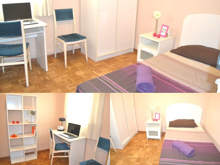 Interior bedroom 5 with single bed
