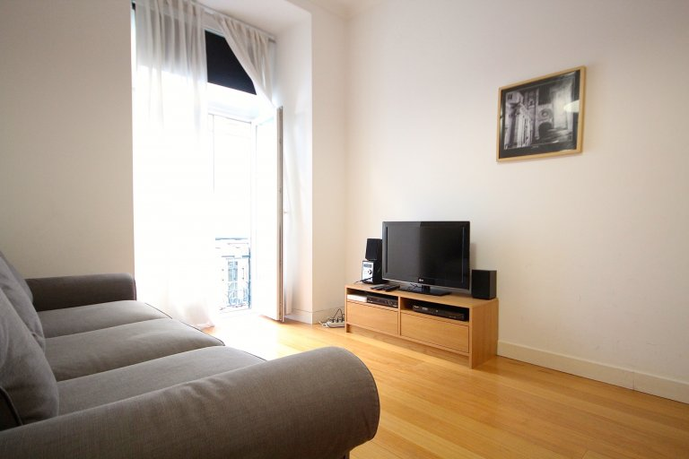 Open 1-bedroom apartment for rent in Rossio, Lisbon