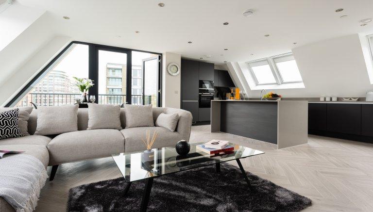 Lindo apartamento de 2 quartos para alugar em Battersea, Londres