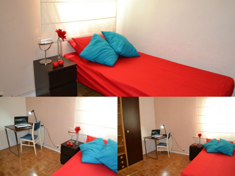 Interior bedroom 3 with single bed