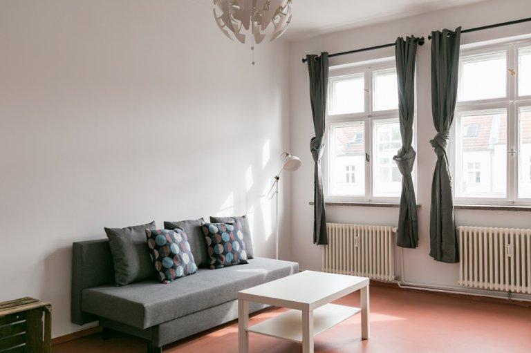 Apartamento com 1 quarto para alugar em Friedrichshain, Berlim