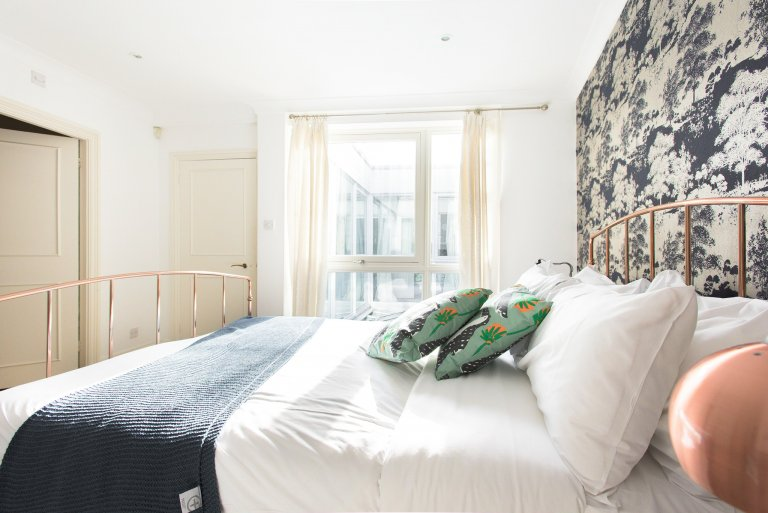 Schicke 4-Zimmer-Wohnung zum Mieten in Kensington, London