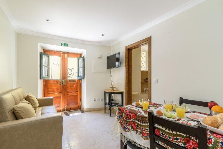 Gemütliche 1-Zimmer-Wohnung zur Miete in Alfama, Lissabon