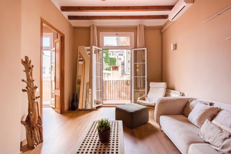 Elegante 1-Zimmer-Wohnung zur Miete in El Born, Barcelona