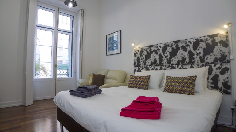 Urban studio apartment for rent in Carmo, Lisbon