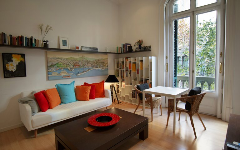 Trendy 1-bed flat for rent in l'Eixample Dreta, Barcelona