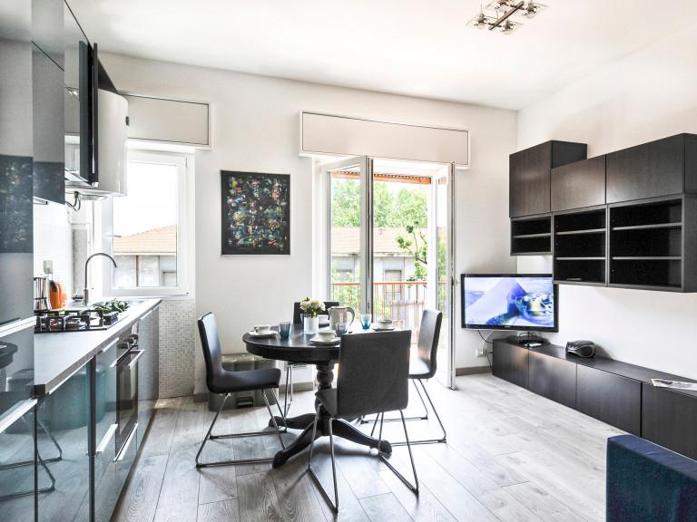 Apartamento de 1 quarto para alugar em Porta Romana, Milão.