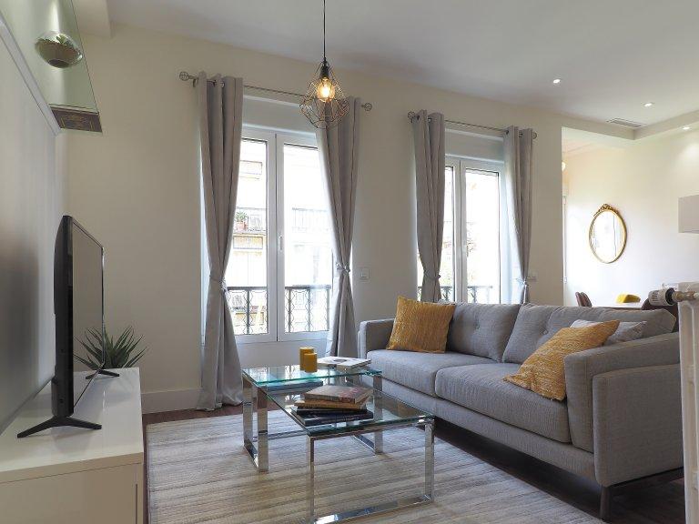 Apartamento de 3 quartos para alugar em Retiro, Madrid