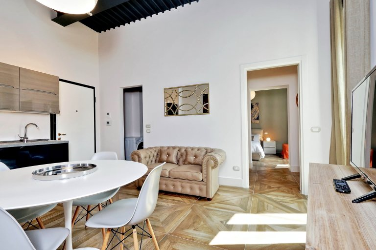 Elegante apartamento de 1 dormitorio en alquiler en Centro Storico, Roma