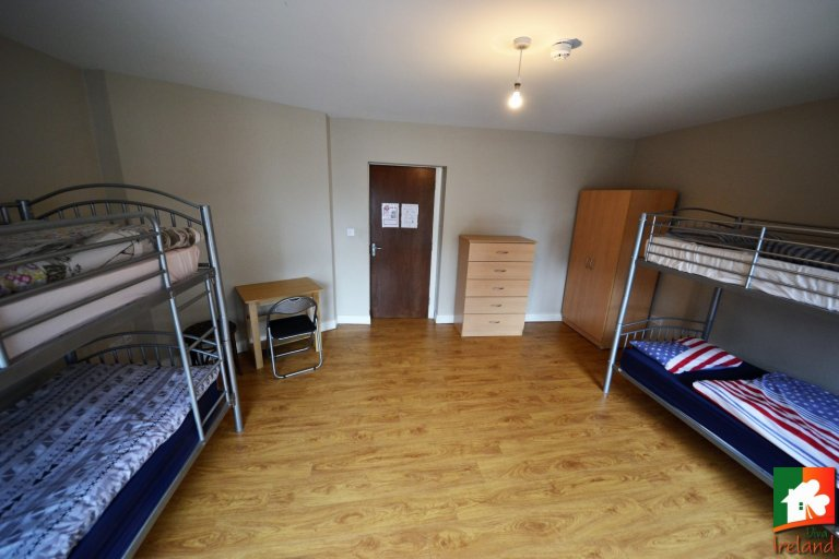 Beds for rent, shared room, 2-bedroom apartment in Dublin