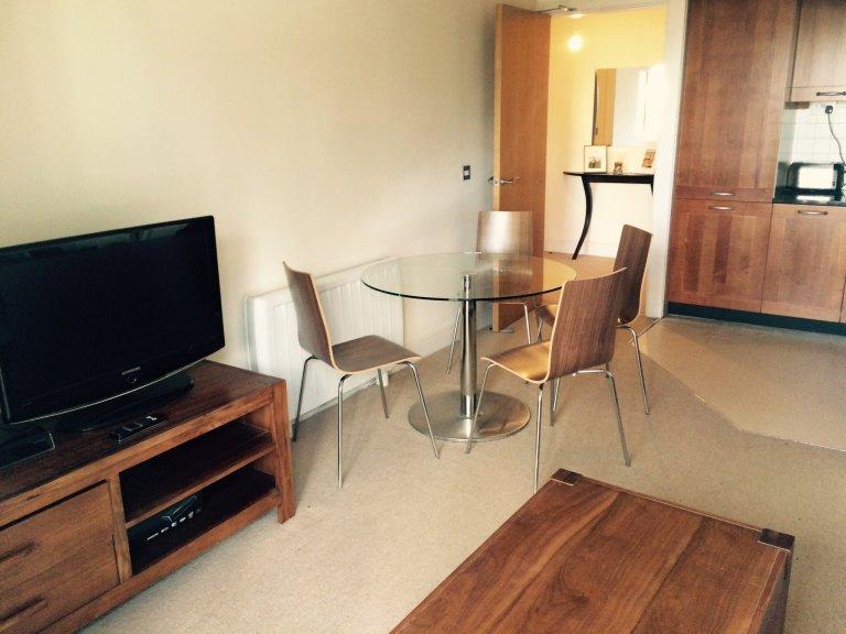 Mieszkanie z 1 sypialnią do wynajęcia w Grand Canal Dock, Dublin