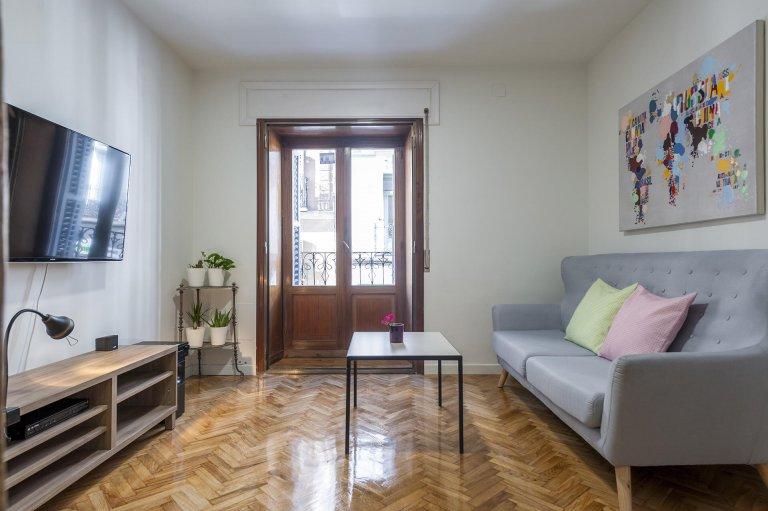 Grande apartamento de 4 quartos em Malasaña, Madrid