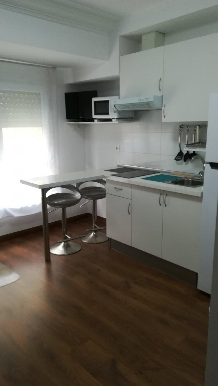 Studio apartment for rent in Quatre Carreres