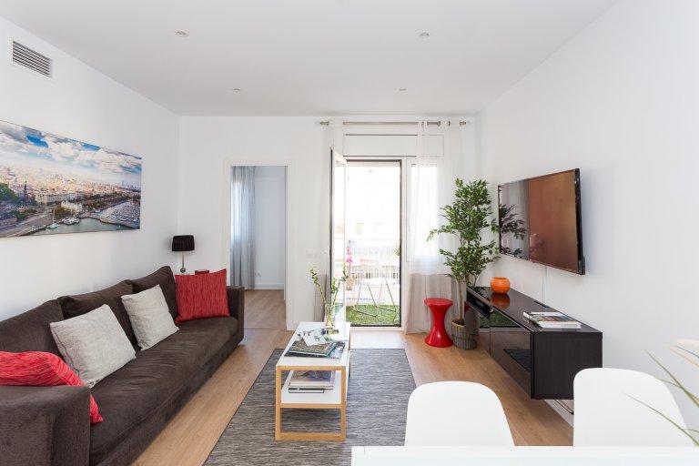 Piękne 4-pokojowe mieszkanie do wynajęcia w Eixample, Barcelona