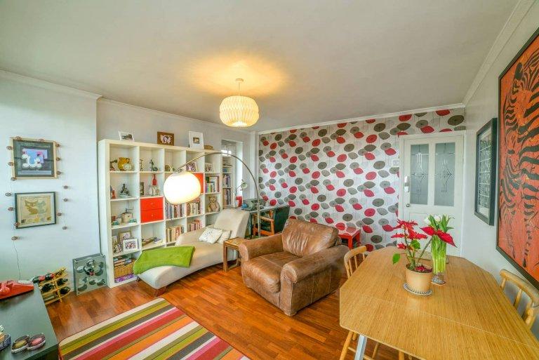 Hip 1-pokojowe mieszkanie do wynajęcia w Limehouse w Londynie