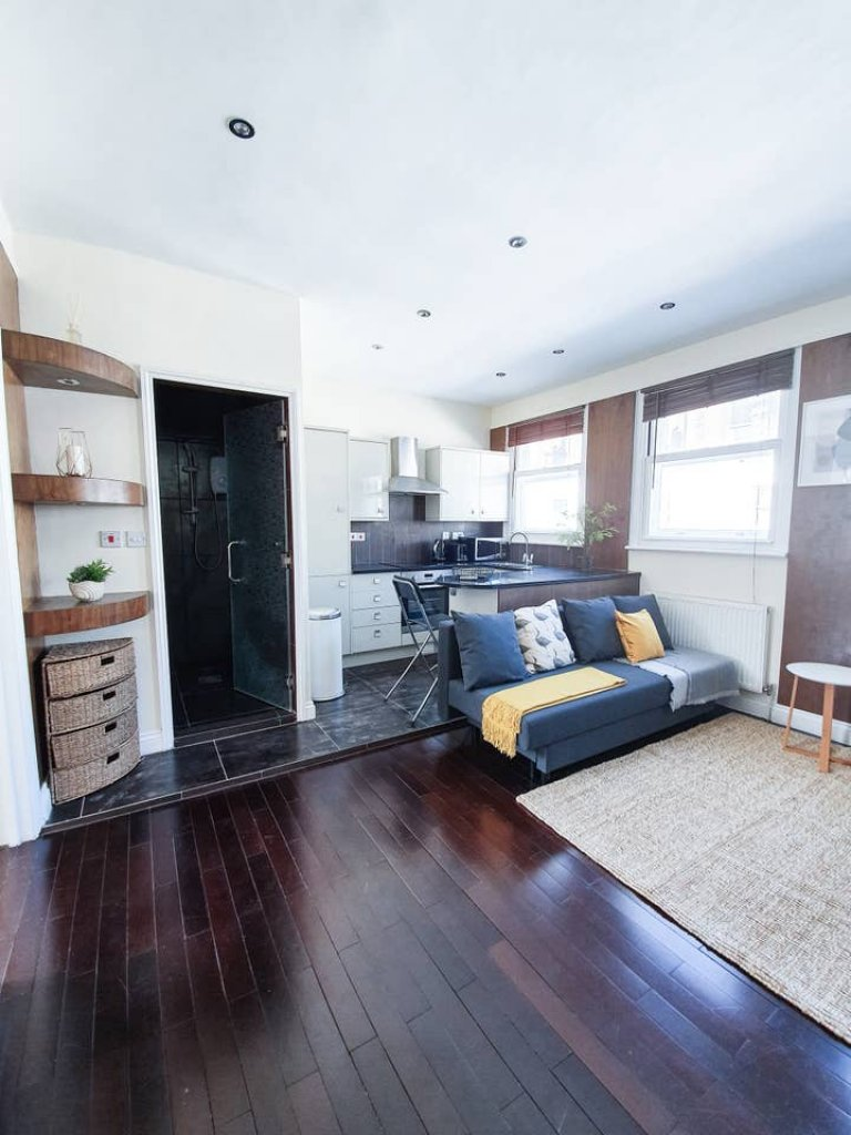 Mieszkanie z 1 sypialnią do wynajęcia w Fitzrovia w Londynie