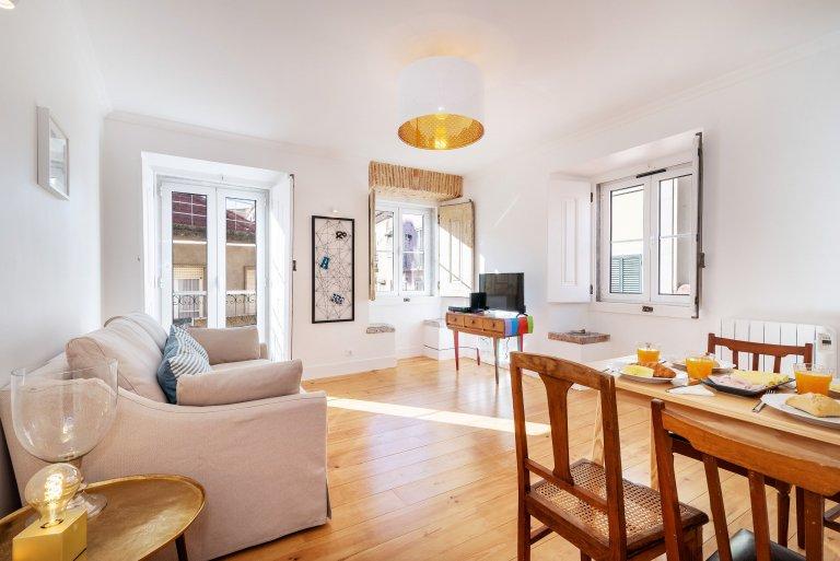 Coole 1-Zimmer-Wohnung zu vermieten in Lapa, Lissabon