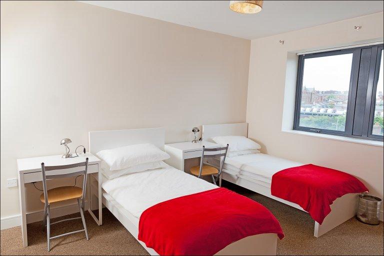 Chambres à louer dans un appartement de 2 chambres à coucher dans le centre-ville nord