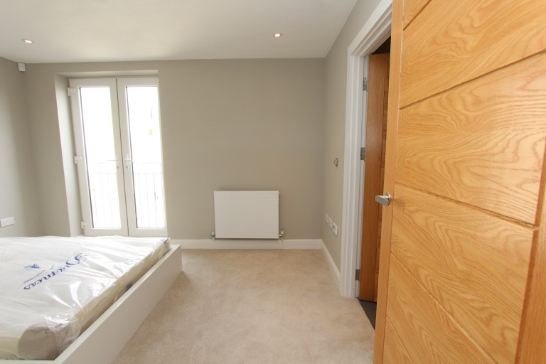 Bedroom 3 with a double bed.