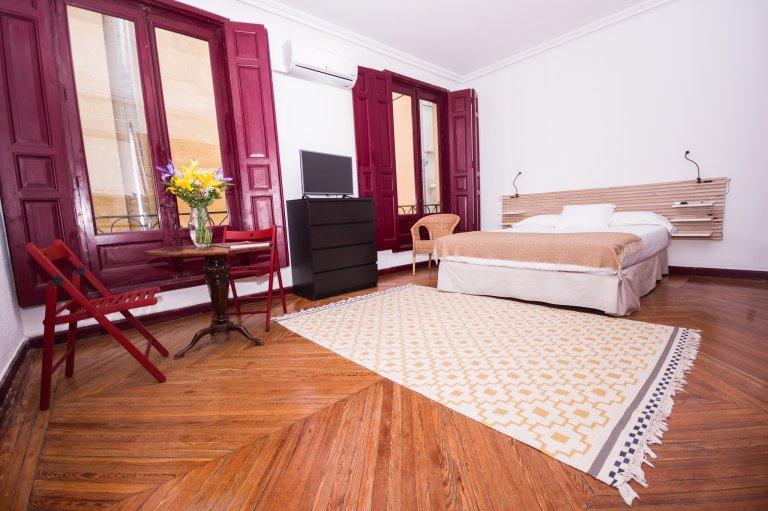 Acolhedor apartamento para alugar no centro de Madrid