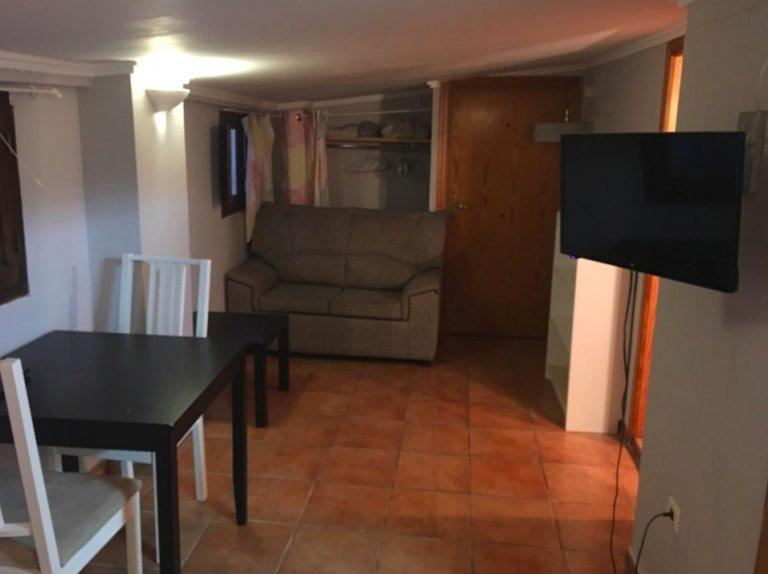 Cozy studio apartment for rent in Ciutat Vella, Valencia