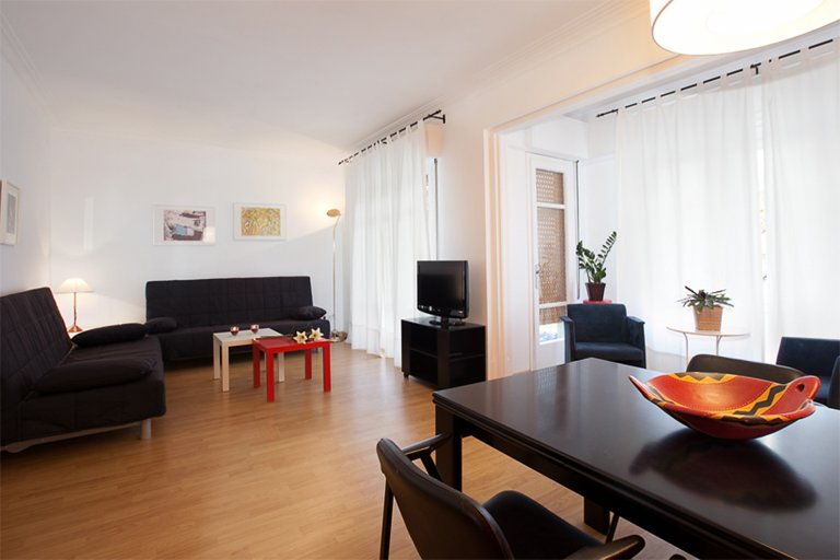 3-bedroom apartment for rent in Barcelona