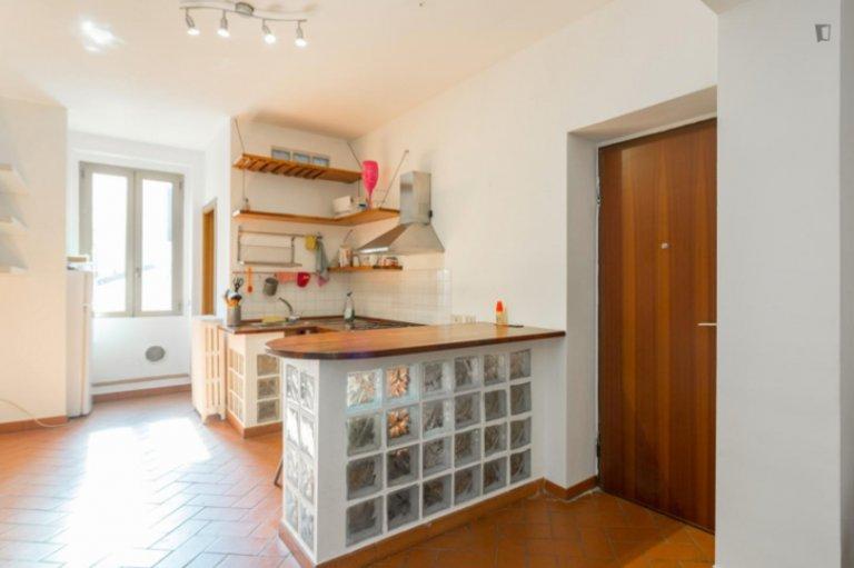 Luminoso appartamento con 2 camere in affitto a Loreto, Milano