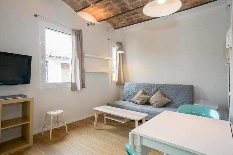 Studio spacieux à louer à la Barceloneta, Barcelone