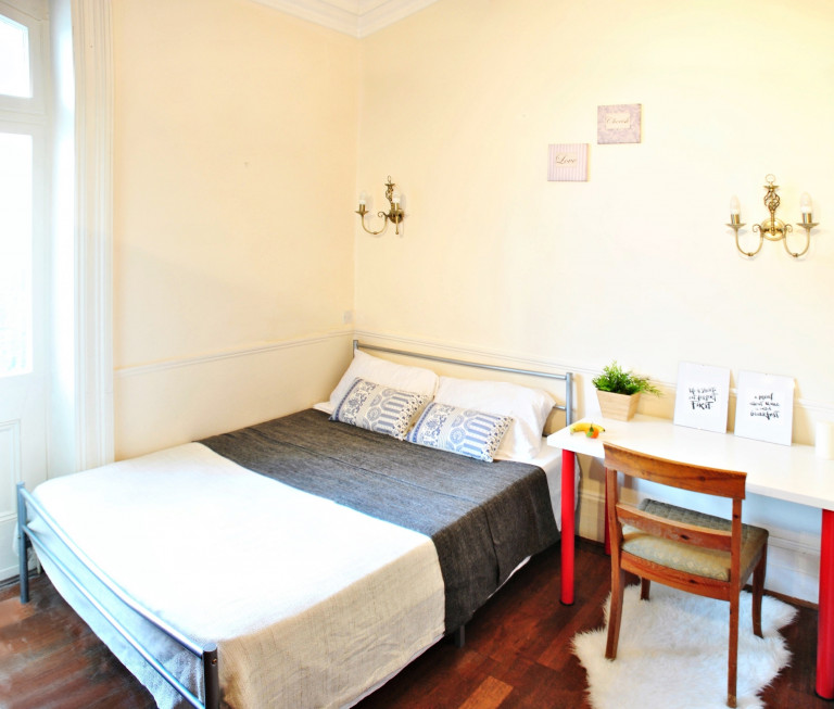 Bedroom 2B with double bed