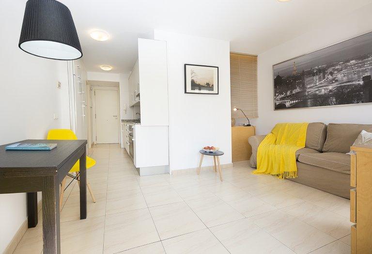 1-pokojowe mieszkanie do wynajęcia w Sarrià-Sant Gervasi