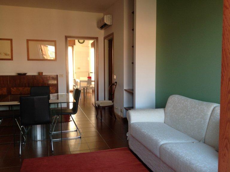Apartamento de 1 dormitorio en alquiler en Lambrate, Milán