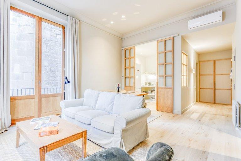 Terrific 1-bedroom apartment for rent in El Born, Barcelona