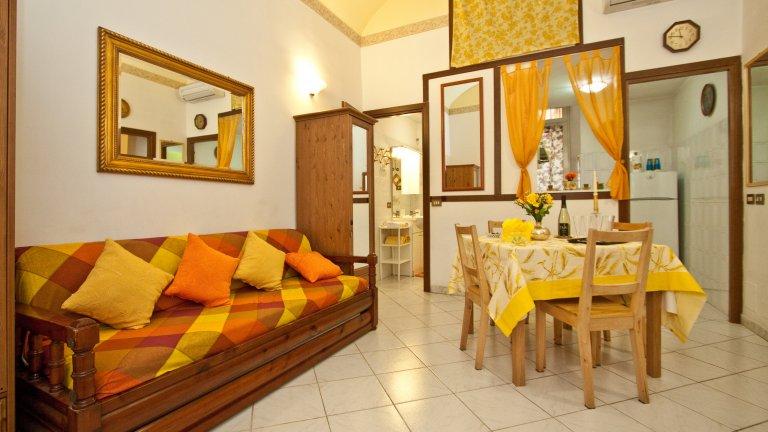 Apartamento colorido de 2 quartos para alugar em Prati, Roma
