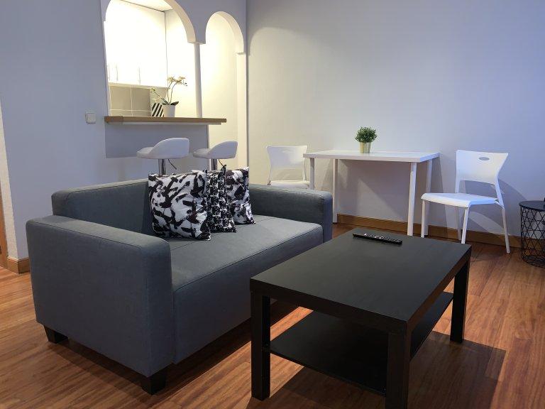 Cool estudio en alquiler en Malasaña, Madrid