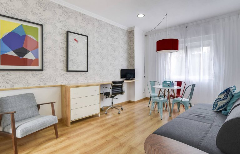 Cute 1-bedroom apartment for rent in Penha França, Lisbon