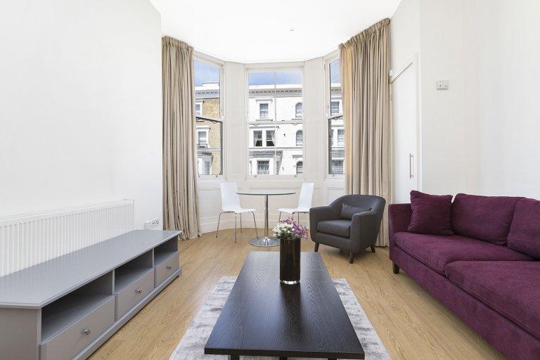 Wspaniałe 2-pokojowe mieszkanie do wynajęcia w Kensington w Londynie