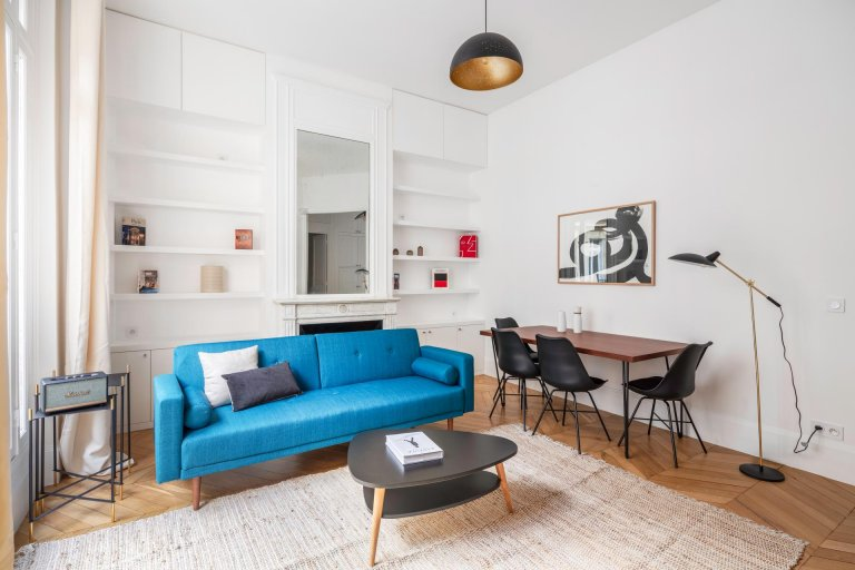 Lovely 1-bedroom apartment for rent in Trocadero, Paris