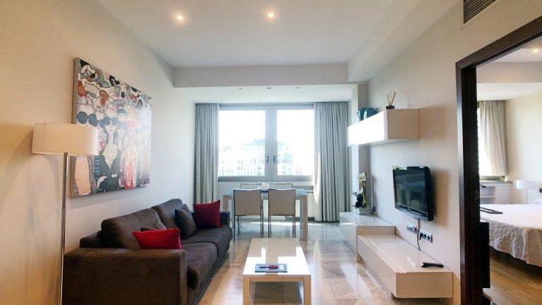 Charmante 1-Zimmer-Wohnung zur Miete in Centro, Madrid