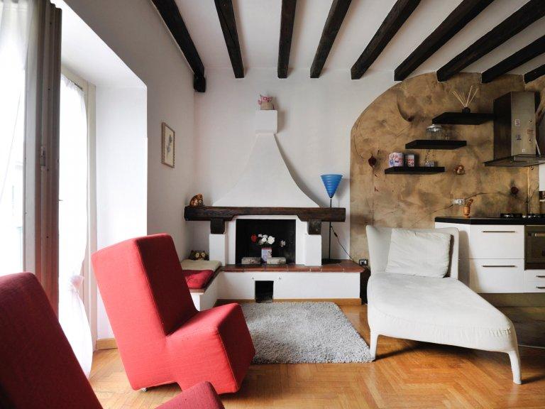 2-Zimmer-Wohnung zur Miete in Navigli, Mailand