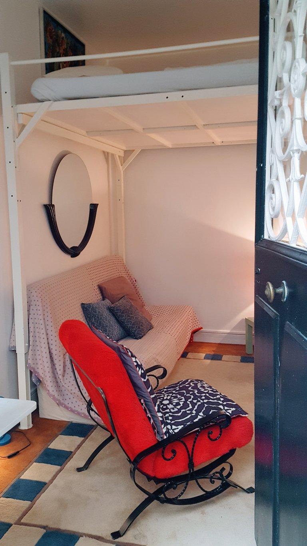 Cool studio apartment for rent in 18th arrondissement, Paris